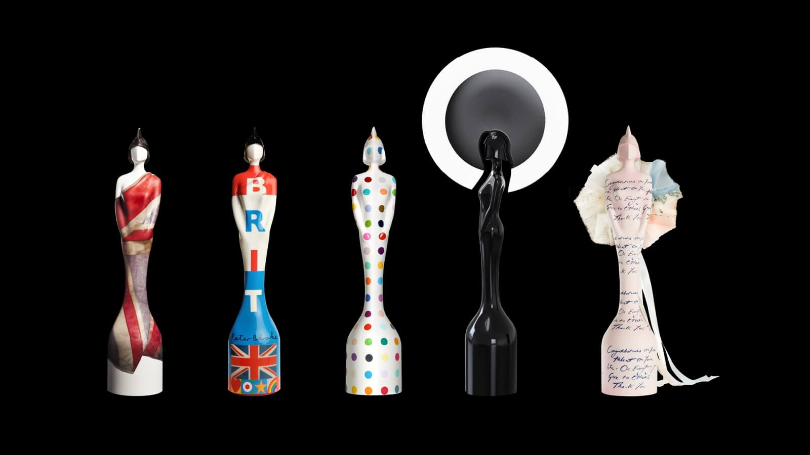 01 The Brit Awards Trophies