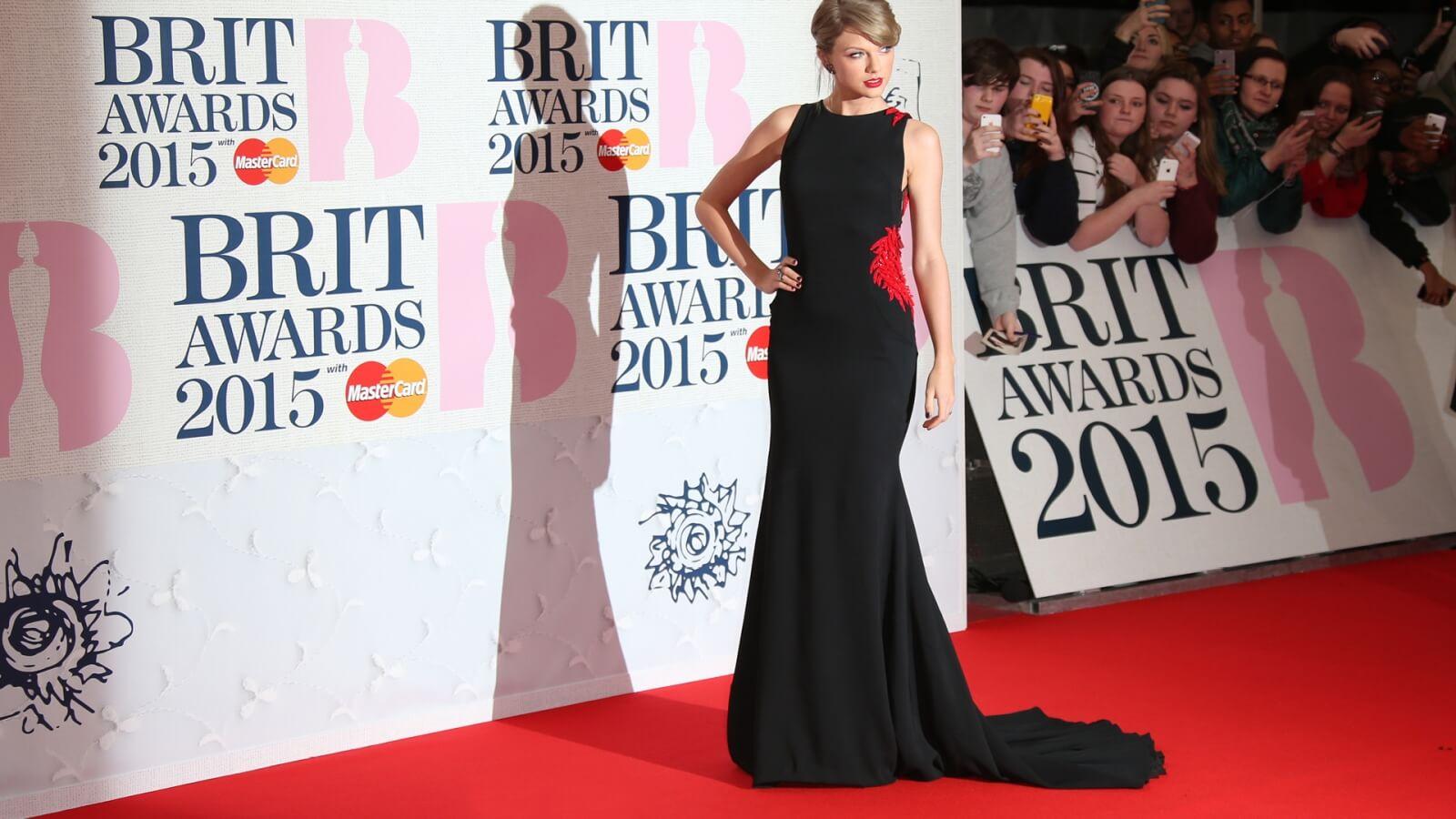 02 Brit Awards Logo 2015 Taylor Swift
