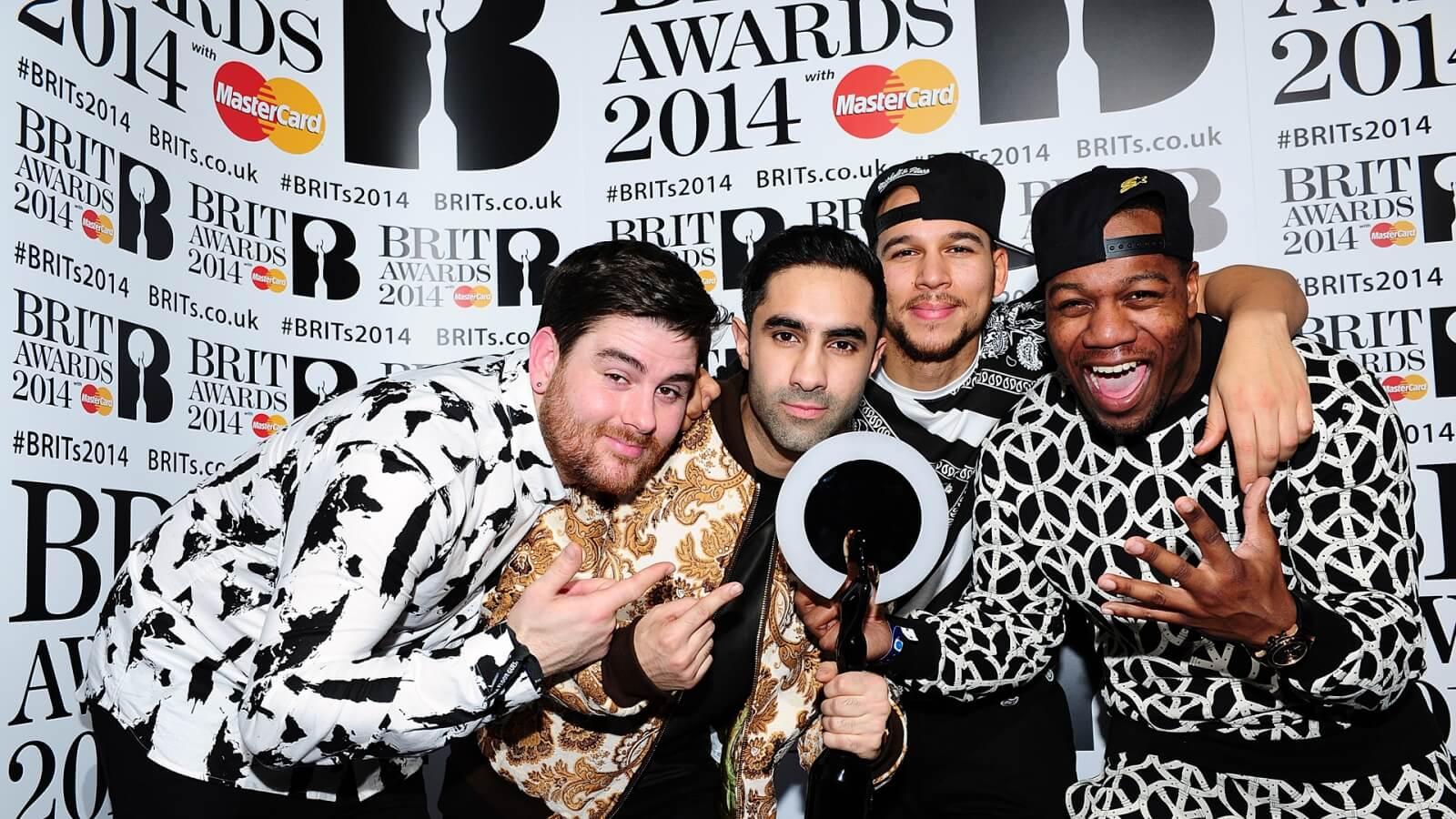 03 Brit Awards Logo 2014 Rudimental