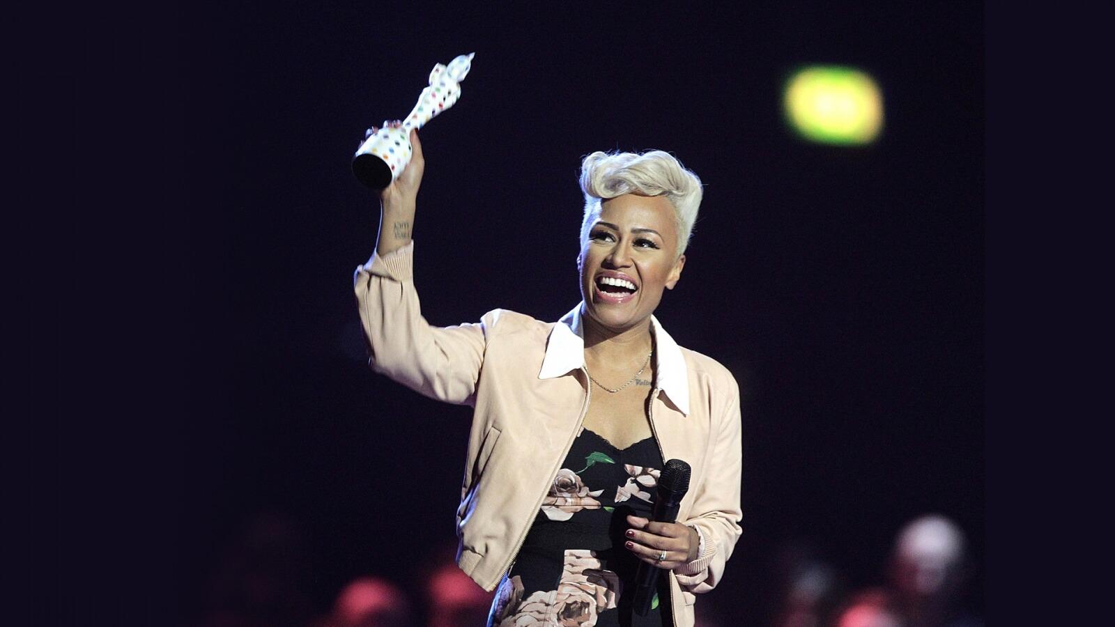 04 Brit Awards Trophy 2013 Emeli Sande