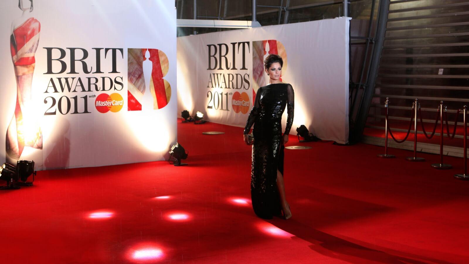 06 Brit Awards Logo 2011 Cheryl Cole