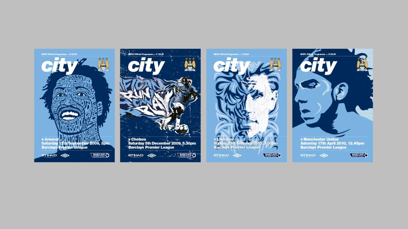 12 MCFC Big Four Program Covers